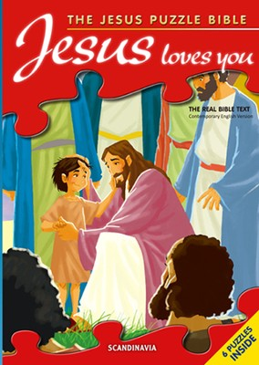 Jesus Loves you   -     Illustrated By: Gustavo Mazali