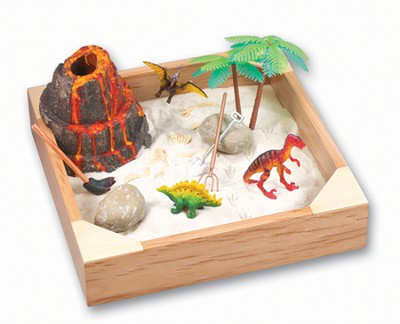 My Little Sandbox Play Set, Dinoland  -     By: Vince Kurr