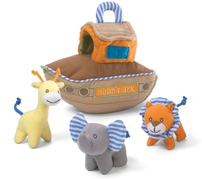 Noah's Ark Fabric Playset, 4 piece  -