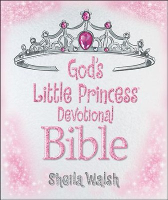 ICB God's Little Princess Devotional Bible, hardcover  -     By: Sheila Walsh