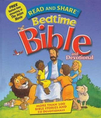Read and Share Bedtime Bible and Devotional  -     By: Gwen Ellis
