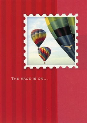 Up, Up, and Away, Birthday Cards, Box of 12  -