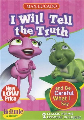 Hermie: I Will Tell The Truth 2-In-1 DVD - Flo they Lyin' Fly/The Flow Show Creates a Buzz  -     By: Max Lucado