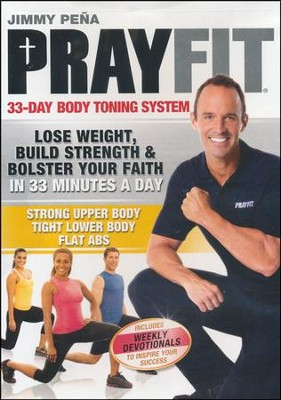 Prayfit 33-Day Body Toning System DVD  -     By: Jimmy Pena