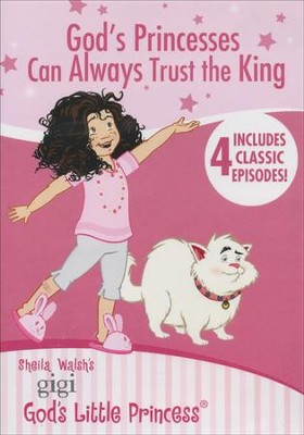 Gigi: God's Princesses Can Always Trust the King DVD  -     By: Shelia Walsh