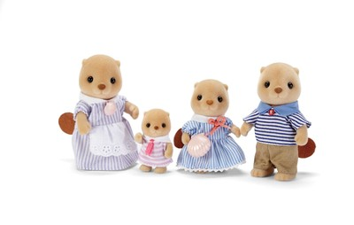 Calico Critters, Sea Otter Family  -
