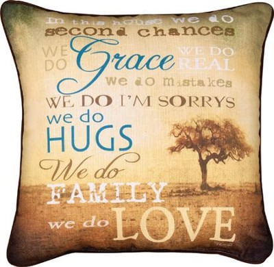 In This House Pillow  -
