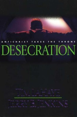 Desecration, Left Behind Series #9, Hardcover  - Slightly Imperfect  -