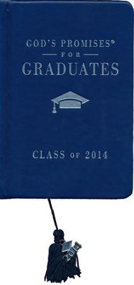 NKJV God's Promises for Graduates: Class of 2014, Blue  -     By: Jack Countryman