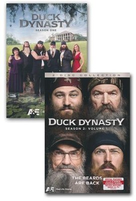 Duck Dynasty Seasons 1 & 2, DVDs   -