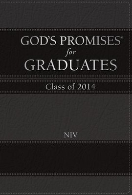 NIV God's Promises for Graduates: Class of 2014, Black  -     By: Jack Countryman