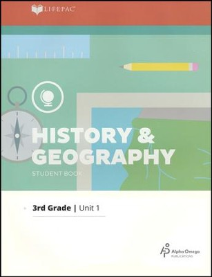 LIFEPAC History & Geography Student Book Grade 3 Unit 1 2011 Edition  -