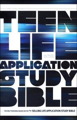 NLT Teen Life Application Study Bible, Softcover  -
