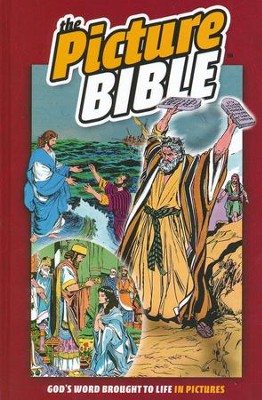 The Picture Bible, Hardcover   -     By: Iva Hoth
