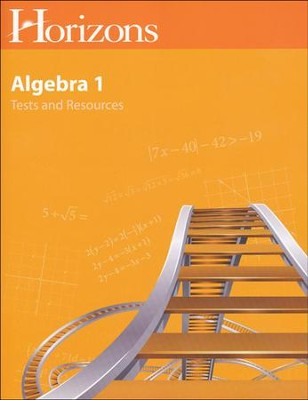 Horizons Math Algebra Grade 8 Tests & Resource Guide  -