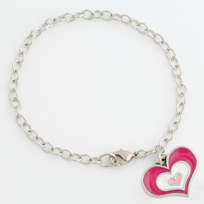 Be Loving, Heart Bracelet  -