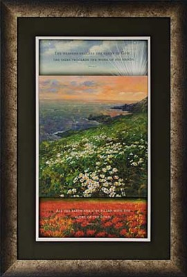 The Heavens Declare the Glory of God Framed Print  -