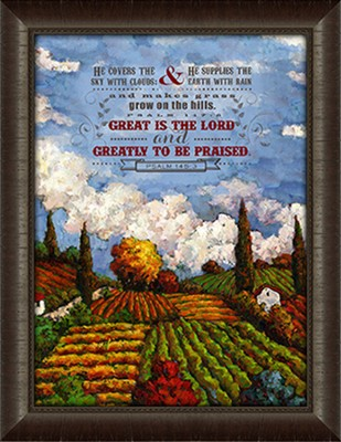 Great Is the Lord Framed Art  -