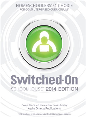 Complete Grade 4 Subject Set, Switched-On Schoolhouse 2014 Edition   -