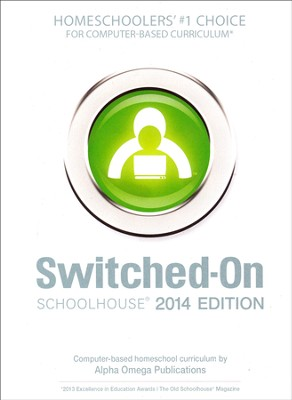 Complete Grade 6 Subject Set, Switched-On Schoolhouse 2014 Edition   -