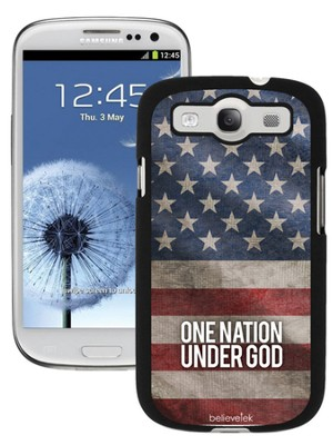 One Nation Under God Galaxy 3 Case  -