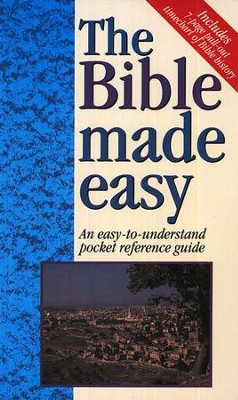 The Bible Made Easy, 20 copies   -     By: Mark Water