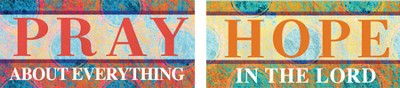 Pray Hope Magnet Set  -