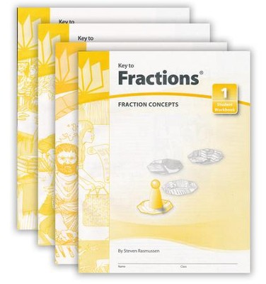 Key To Fractions, Books 1-4   -