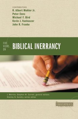 Five Views on Biblical Inerrancy  -     By: James R.A. Merrick, Stephen M. Garrett, R. Albert Mohler Jr.