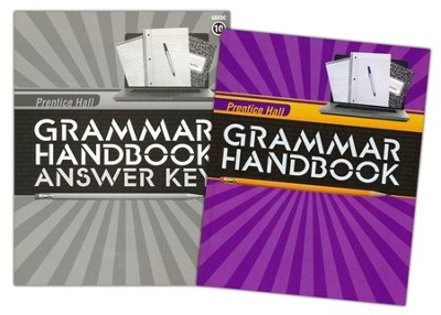 Prentice Hall Grammar Handbook Grade 10 Homeschool Bundle    -