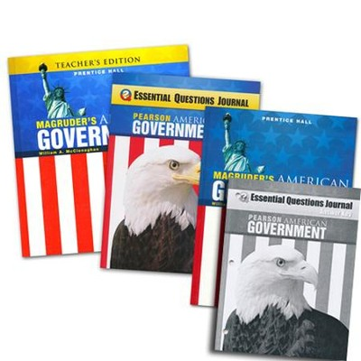 Magruder's American Government Homeschool Bundle   -     By: William A. McClenaghan