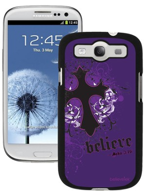 Cross Galaxy 3 Case, Purple  -