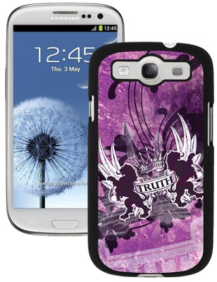 Truth Lion Galaxy 3 Case, Purple  -