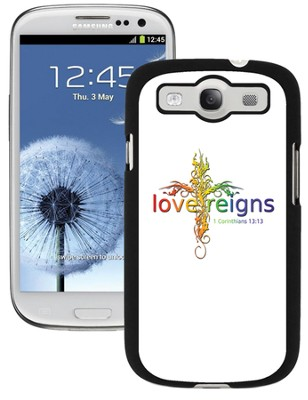 Love Reigns Cross Galaxy 3 Case, Multi  -