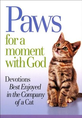 Paws for a Moment with God Devotions Book  -