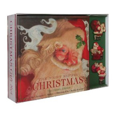 Night Before Christmas: The Classic Edition Plus Ornaments  -     By: Clement Moore