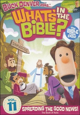 What's in the Bible? #11: Spreading the Good News! DVD   -