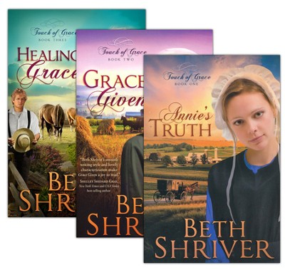 Touch of Grace Series, Volumes 1-3  -     By: Beth Shriver