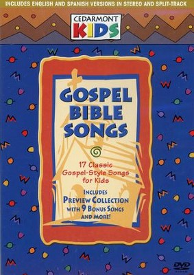 Gospel Bible Songs on DVD   -     By: Cedarmont Kids