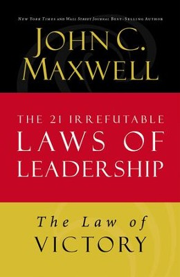 Law 15: The Law of Victory - eBook  -     By: John Maxwell