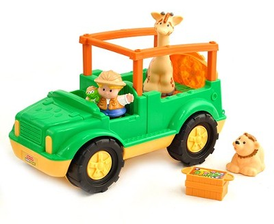 Little People Zoo Talkers Animal Sounds Truck  -