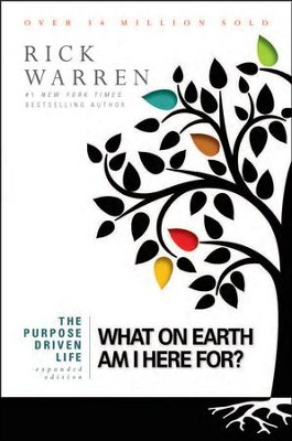 The Purpose-Driven Life: What on Earth Am I Here For?  Expanded Edition, Largeprint, Softcover - Slightly Imperfect  -