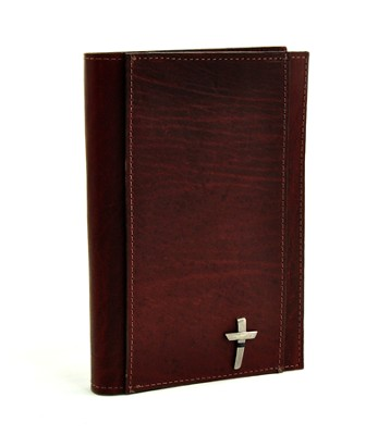 Leather Legal Pad, Burgundy, Small  -