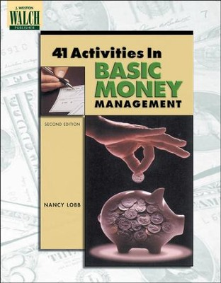 Digital Download 41 Activities in Basic Money Management - PDF Download  [Download] -     By: Nancy Lobb