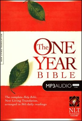 NLT One-Year Bible on MP3   -     By: Tom Busteed
