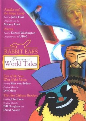 Rabbit Ears Treasury of World Tales                     East of the Sun/West of the Moon, The Five Chinese  -     By: Rabbit Ears