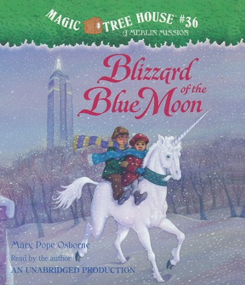 Magic Tree House #36: Blizzard of Blue Moon Unabridged Audiobook on CD  -     By: Mary Pope Osborne