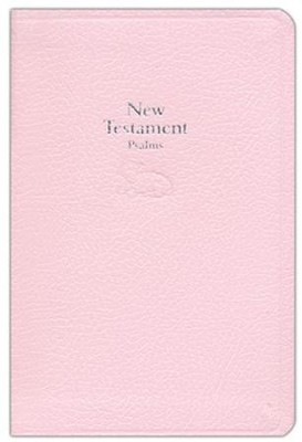 KJV Baby's New Testament and Psalms--bonded leather Pink   -