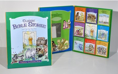 Classic Bible Stories 8 Book Portfolio Set   -