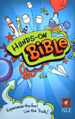 NLT Hands-On Bible, Softcover  -